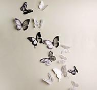 Животные 3D Наклейки 3D наклейки Декоративные наклейки на стены,Винил материал Съемная Украшение дома Наклейка на стену