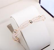 Fashion Wire Mesh Crystal Bracelet