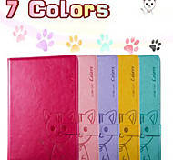 NEW..Leiers Do mi cat series cartoon leather mobile cover  for Ipad 2/3/4