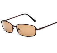 Sonnenbrillen hombres's Klassisch / Elegant / Modern Quadratisch Schwarz / Braun / Gold Sonnenbrillen Vollrandfassung