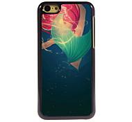 Mermaid Design Aluminum High Quality Case for iPhone 5C