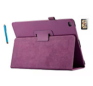 PU casi busta in pelle casi Folio per iPad 2/3/4 sottile guscio + screensaver libero + penna touch screen