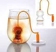 Deep Tea Diver Tea Infuser - Cute Scuba Diving Loose Leaf Silicone Mug Cup Strainer Filter