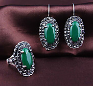 Z&X® Alloy/Resin Extravagant Vintage Exalted Jewelry Set Party/Casual 1set