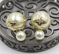 Fashion Women额Alloy/Imitation Pearl Earring Stud Earrings Daily/Casual/Sports