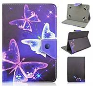 geschilderde beugel tablet pc case voor de Galaxy Tab 2 10.1 / tab 3 10.1 / tab 4 10.1 / tab e 9.6 / tab pro 10.1 / tab s2 9.7 / tab een