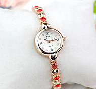 Women's  Watch Korean Version Of The New Rhinestone Heart-Shaped Bracelet Watch