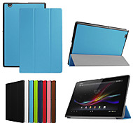 Dengpin 10.1''PU Leather Tablet Protective Case Cover With Stand for Sony Xperia Z4 Tablet(Assorted Colors)