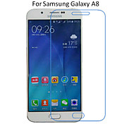5PCS Ultra Thin HD Transparent Anti-Scratch Screen Protector Film For Samsung Galaxy A8