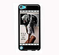 Girl Design Aluminum High Quality Case for iPod Touch 5