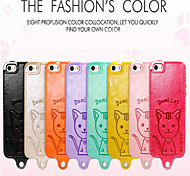 Leiers Dimicat case pu leather and tpu following whole package case for iphone5/5s