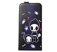 Love Baby PU Leather Upper And Lower Open Leather Case with Card for Galaxy S6 edge