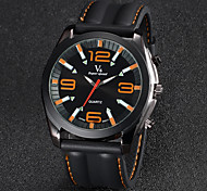 Men's Watch Dress Watch Fashion Silicone Strap  Cool Watch Unique Watch