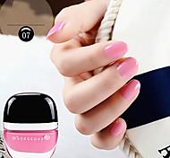 Dull Polish Matt Strip off Nail Polish NO.1-12(18ML,Assorted Colors)