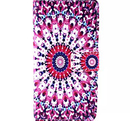 Sequin Pattern PU Leather Phone Case For Sony M4