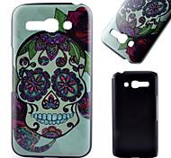 Skull Pattern Black Scrub PC Material Phone Case for Alcatel C9/ C7 /C5