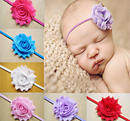 Baby Girls Headbands Infant Headbands Flowers Rhinestone Chiffon Flowers Baby Headband Girls Hair Accessories