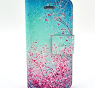 New Painted PU Leather Phone Case Cover with Kickstand for iPhone 4/4S