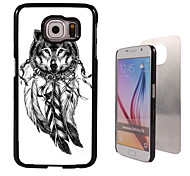 The Wolf and The Dream Catcher Design Aluminum High Quality Case for Samsung Galaxy S6 Edge G925F