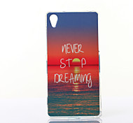 Charming Sunshine Pattern TPU Soft Case for Multiple Sony Xperia M2/Z2A