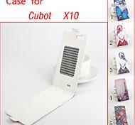 флип кожаный магнитный защитный чехол для cubot x10 (ассорти цветов)
