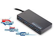 USB-HUB3.0 slim 4-speed USB3.0 hub can simultaneously DC fast charging and data transfer interface 2TB hard drive