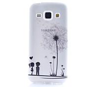Dandelion Pattern TPU Phone Case for Samsung Galaxy Core Prime G360 /G357/G850/J1/530/355H