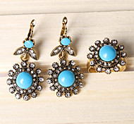 Z&X® Western Style Elegant Sunflower Alloy Jewelry Set Party/Casual 1set