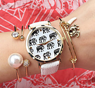 New Ladies Fashion  Watch Students Wrist Watch Quartz Watch Women Watch Elephant Watch Cool Watches Unique Watches