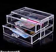 Kosmetik Box Plastic 1 18.6 x 11.5 x 9.0 Normal Transparent