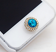 Satellite Stone Home Button Sticker for iPhone(Assorted Color)