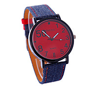 Women's Personalized Cowboy Type PU Strap Watches