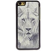 le cas lion marche design en aluminium de haute qualité pour iPhone 5c