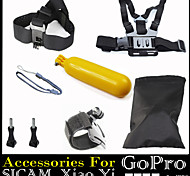 Accessori GoPro Con bretelle / Montaggio / Accessori Kit Impermeabile / Galleggiante, Per-Action cam,Xiaomi Camera / Gopro Hero 2 / Gopro