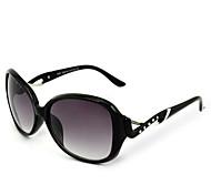 Mulheres 's 100% UV400 Oversized Óculos de Sol