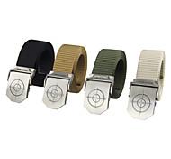 estilo militar unisex Rockway aire libre automáticas cinturones de hebilla con nylon resistente fácilmente aprovechar