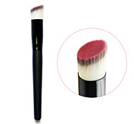 3 Colors Wood Handle Fashion Professional  Foundation Makeup Brush Oblique Brushes Tool