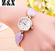 Women's Fashion  Simplicity  Quartz Analog  Angel's Wings Wrist Watch(Assorted Colors)