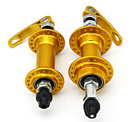 Bicycle Accessory Golden Alloy Hubs with Quick Releasy