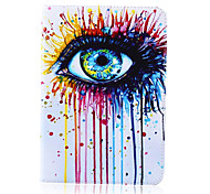 motif magie spider®color d'oeil cuir PU avec support de protection pour onglet de Samsung Galaxy s2 8,0 / s2 9,7