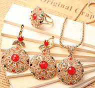Z&X® Fahion Vintage Elegant Alloy Jewelry Set Party/Casual 1set