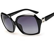 Sonnenbrillen mujeres's Elegant / Modern / Modisch / Polarisierte Quadratisch Schwarz / Dunkelrot / Lila / Leopard Sonnenbrillen