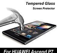 filme protetor de tela de vidro temperado para Huawei Ascend p7