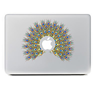 The Peacock Flowers Decorative Skin Sticker for MacBook Air/Pro/Pro with Retina Display
