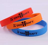 Fashion Jewelry Cosplay StarCraft Ⅱ Soft Silicone Bracelet Shamballa Bracelets Charm Bracelets