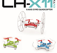 LH-X11 2.4GHz 4CH Mini RC Quadcopter Rolling/Flying Nano Drone with 6 Axis Built-in Gyro