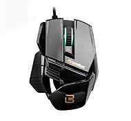 2015 Hot Bazalias 2000DPI 6 Button USB Wired Mouse Optical Game Gaming Mouse Mice for Laptop PC