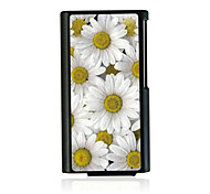 Daisy Leather Vein Pattern Hard Case for iPod Nano 7