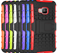 Dual Armor Hybrid TPU & PC Hard case Kickstand Heavy Duty Case cover For HTC One M9/M8/Desire 510/Desire 610