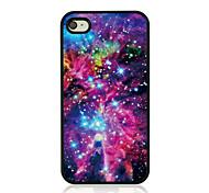 hellen Sternenhimmel Leder Venenmuster Hard Case für iPhone 4 / 4s